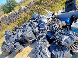 Clean up Tricase, il bottino finale