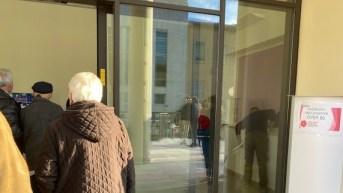Lecce, le prime vaccinazioni per gli over 80