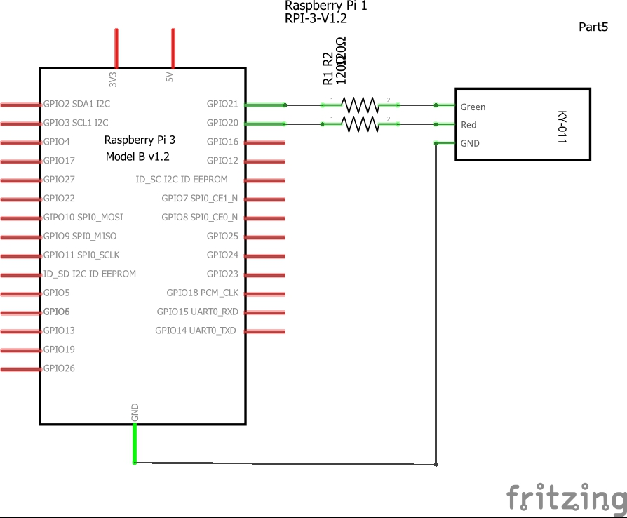 pi and ky-011 schematic