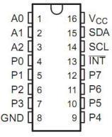 pcf8574 pinout
