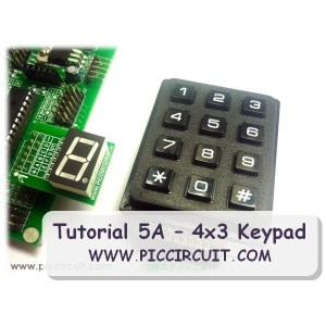 Tutorial 5A  4x3 Keypad Demo