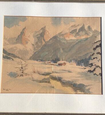 Olbild Motiv Wetterstein Arno Lemke Munchen Eur 999 00 Picclick De