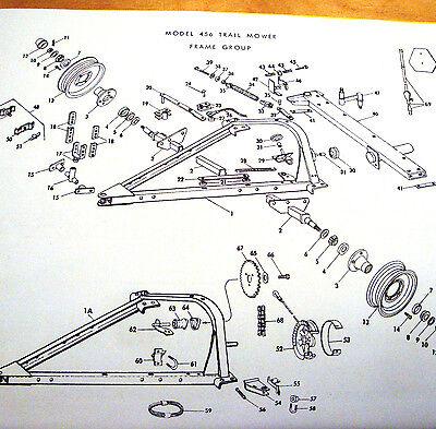 Sickle Bar Mower Parts Diagram
