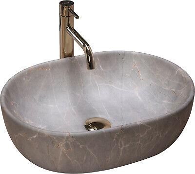 Vasque En Ceramique A Poser Lara 48 5 X 35 Cm Lavabo Ovale Forme Moderne Rea Eur 68 90 Picclick Fr
