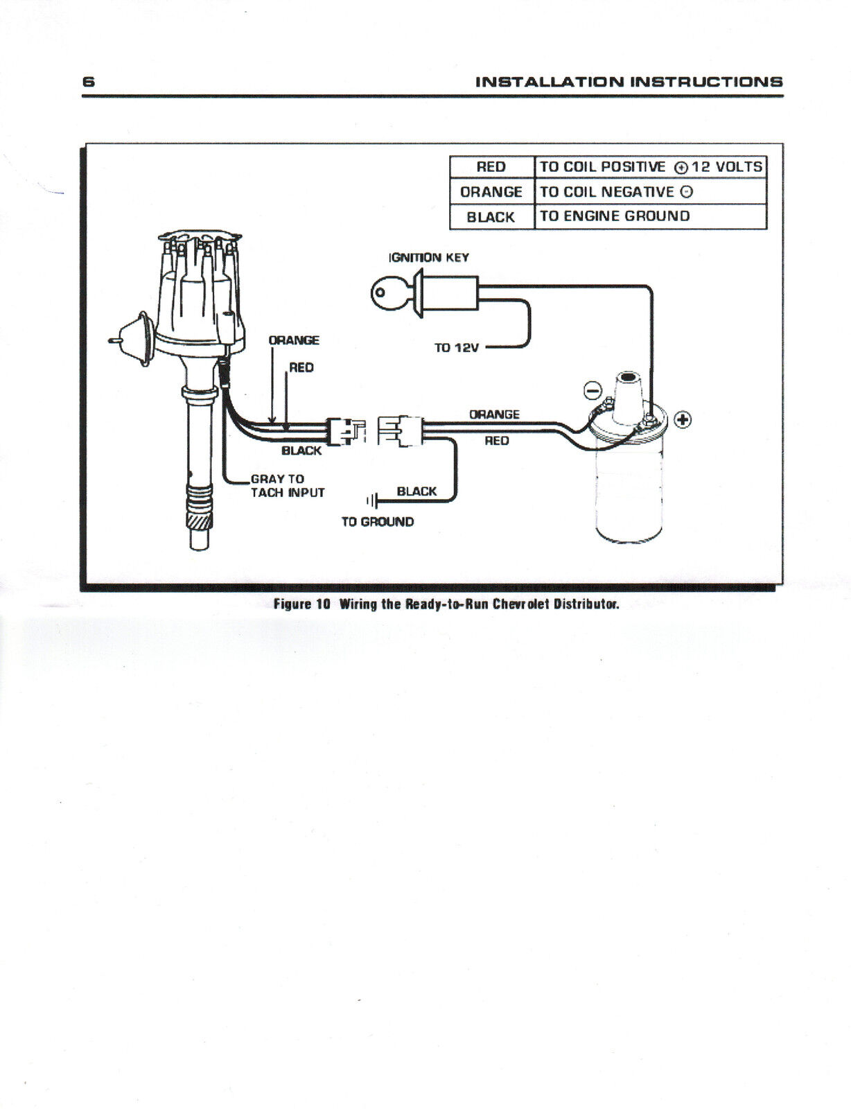 Pro Comp Tach Wiring Diagram