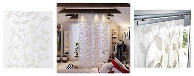 ikea lillerod sheer panel drape divider