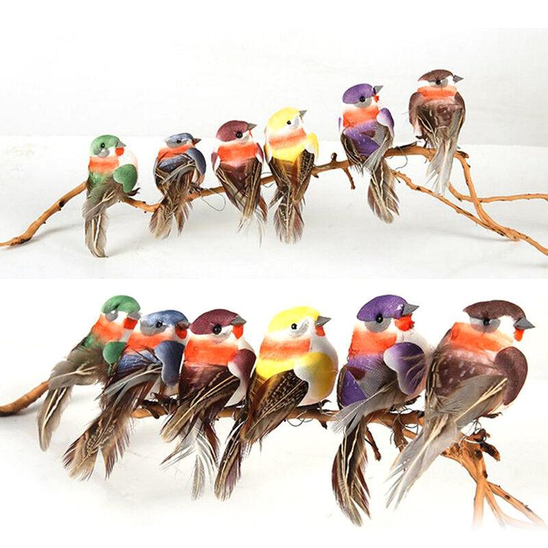 mini faux oiseau artificielle plume de mousse de plumes decoration de mariage t