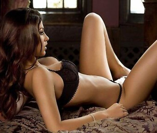 Large A1 Poster Print Picture Sexy Babe Woman Model In Black Lingerie