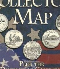 HD Decor Images » US STATE QUARTER Collection Coin Map Display 50 States DC       US State Quarter Collection Coin Map Display 50 States DC   Territories  Colorful