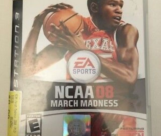 Ncaa March Madness 08 Sony Playstation 3 2007 Complete