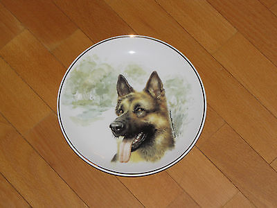 Shepherd collecting plate / ceramic plate, very good condition, also for hanging