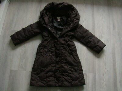 MONSOON jacket 4 5 6 J 110 116 COAT Girls down quilted hood worn once