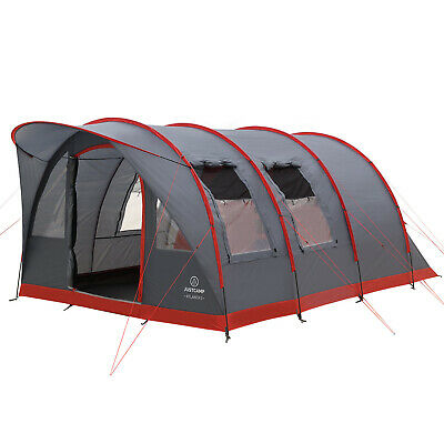 Large family tent, Justcamp Atlanta 5, tunnel tent with standing height for 5 people