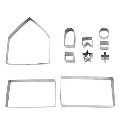 Gingerbread House Cookie Cutters 5