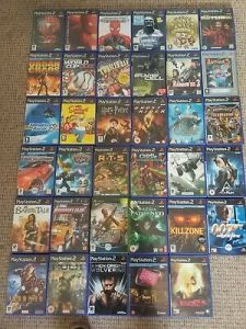 SONY PLAYSTATION 2 Games PS2 Make Your Selection job lot bundle     Sony Playstation 2 Games PS2 Make Your Selection job lot bundle wholesale