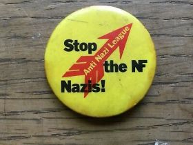Image result for anti nazi league badge
