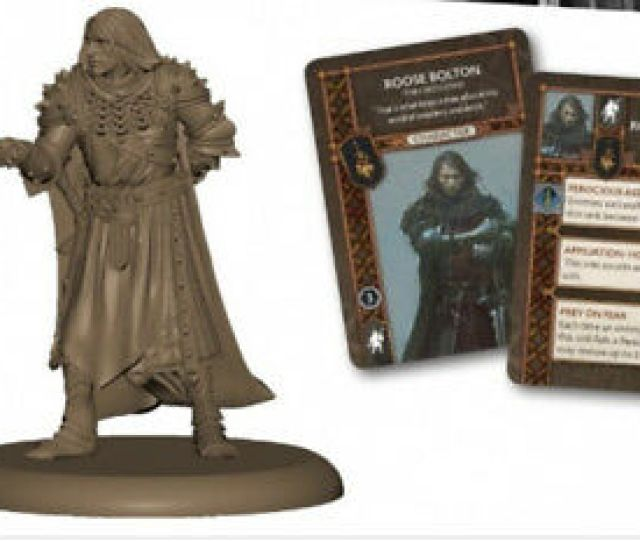 Cmon A Song Of Ice And Fire Game Roose Bolton Game Night Exclusive