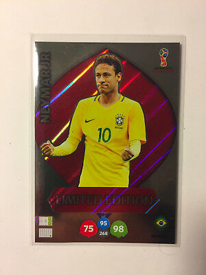 Panini Adrenalyn XL FIFA World Cup Russia WM 2018 Limited Edition Neymar Jr