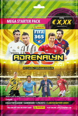 Panini Adrenalyn XL FIFA 365 2021 starter pack folder incl. 5 booster & LE
