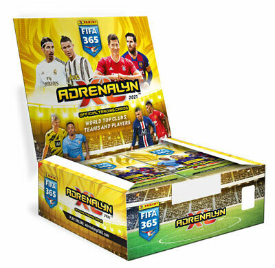 Panini Adrenalyn XL FIFA 365 2021 version 1 display - content 24 booster