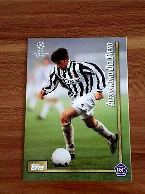 Topps The lost Rookie Cards - RC Alessandro del Piero Juventus Turin UCL