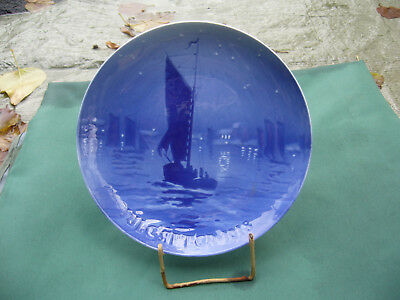 Annual plate from 1918, Bing & Grondahl, very good condition - TOP