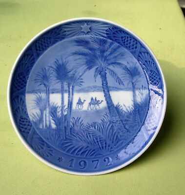 Annual plate from 1972, Royal Copenhagen Denmark, very good condition
