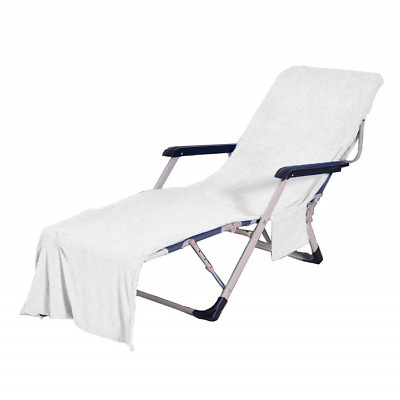 lounge chair towel cover