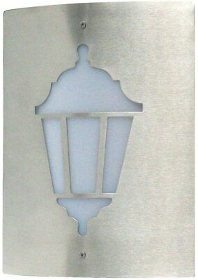 Ranex Vittore Outdoor Wall Lamp E27 Stainless Steel / White