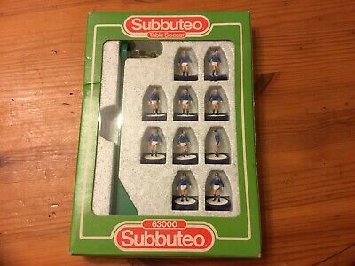 subbuteo team Everton Complete In Original Box
