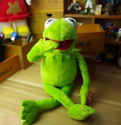Eden Full Body Kermit The Frog Memes Plush Toy Jim Henson Soft New