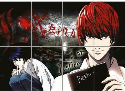 24x36 deathnote light death note poster