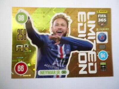 Panini Adrenalyn xl Fifa 365 2021 Limited Edition Neymar JR