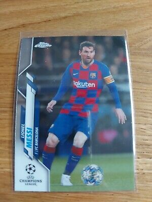 2019-20 Topps Chrome CL - Lionel Messi, FC Barcelona