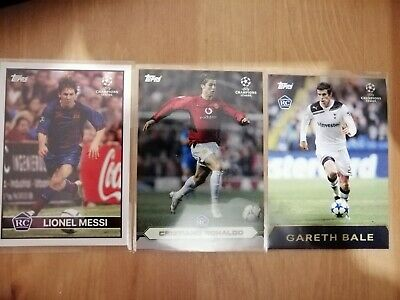 Topps Now 'The Lost Rookie Cards' Lionel Messi, Cristiano Ronaldo & Gareth Bale