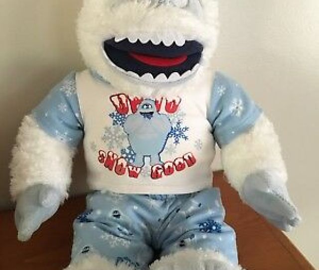 Build A Bear Rudolph Bumble Abominable Snowman Plush Up To Snow Good Outfit
