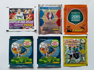 Panini Road To Euro 2016 2020 World Cup 2002 2014 2018 Packet Pouch
