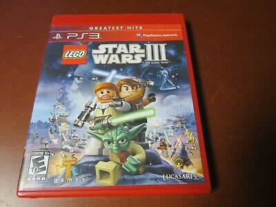 Lego Star Wars Iii For Playstation 3 Ps3 Brand New Factory