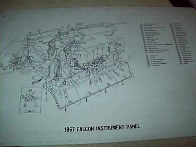 1967 ford fairlane wiring diagram 11x17 17 pages gt 500 xl