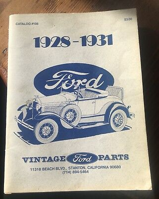 Old Ford Car Parts Catalog Carbk Co