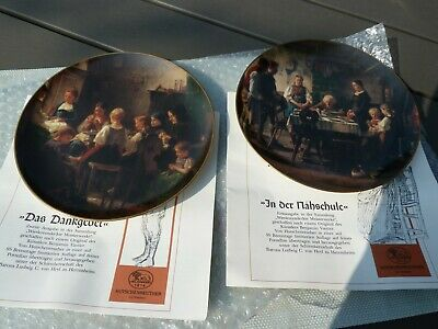 2 x Hutschenreuther limited collector's plates -very good condition-