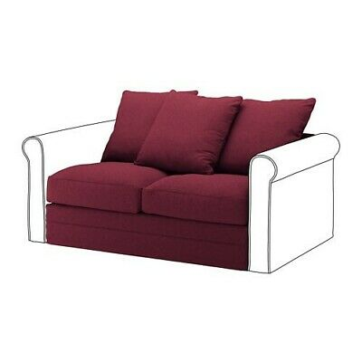 Ikea Gronlid 2 Seat Section Cover Tallmyra Dark Red 90396964