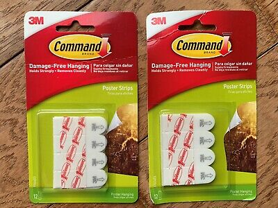 3m command poster strips damage free