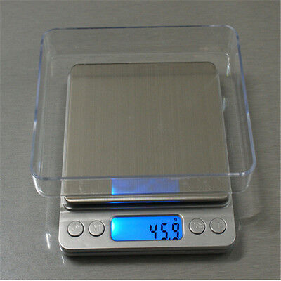 0.1g-3000g Electronic Balance Precision Weighs Jewelry Digital Scale Deco + A