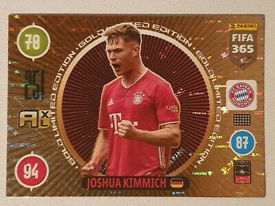 Joshua Kimmich Golden Limited Edition Bayern Munich Adrenalyn XL 2021 Fifa 365