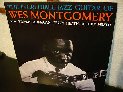 Wes Montgomery  The Incredible Jazz Guitar Of   Top-Mint