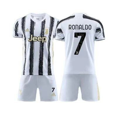 Juventus RONALDO Home 2020/2021 Kids jersey and shorts outfit kit