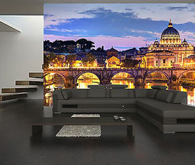 Colosseum In Rome Wall Mural Photo Wallpaper Giant Decor Paper Poster Free Paste