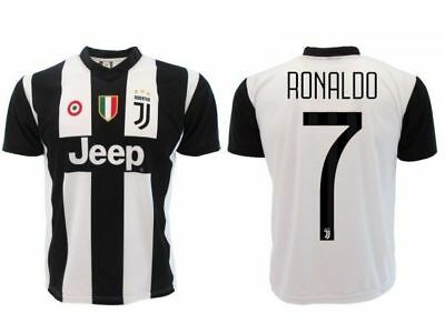 CRISTIANO RONALDO CR7 JUVENTUS Juve 2018 2019 Jersey Official Authorized