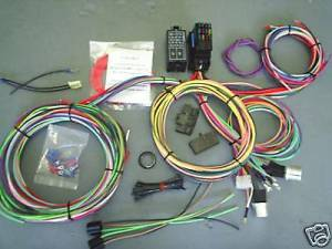 12 Circuit Universal Wire Harness Muscle Car Hot Rod